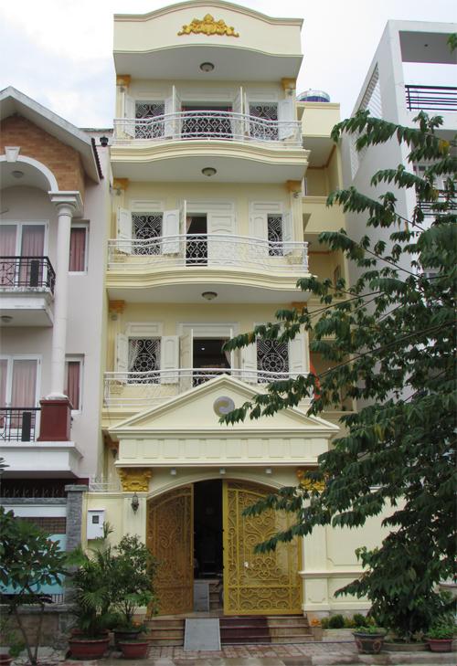 Cấu trúc hình thể nhà thầy Nguyễn Vũ Tuấn Anh